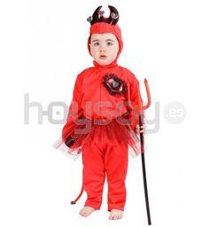 Estupendo #disfraz para #bebé de diablilla para disfrutar de tu fiesta de #Halloween #Disfraces
