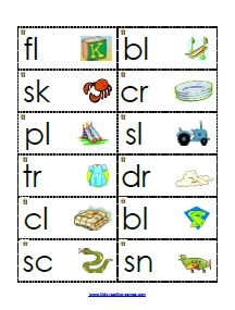 consonant blends on Pinterest | Phonics Games, Reading Games and Maker ...