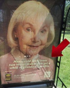 Get a whiff of grandma's muffin