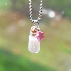 Magical Pixie Dust Necklace R1F3 by BabyLovesPink on Etsy