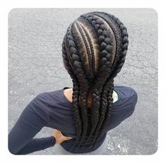 95 best ghana braids styles for 2019 style easily ghanabraided braids easily ghana ghanabraided style styles gorgeous! i can t wait to try this on my sister s hair by sweethearts hair French Braid Hairstyles, African Hairstyles, Hairstyles With Bangs, Weave Hairstyles, Black Hairstyles, Ladies Hairstyles, Protective Hairstyles, Haircuts, Ghana Braid Styles