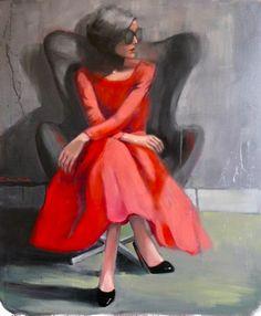 "Saatchi Art Artist Pascale Taurua; Painting, ""The design chair"" #art"