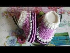 Knit Baby Dress, Baby Cardigan, Baby Knitting, Crochet Baby, Baby Patterns, Crochet Patterns, Slippers, Socks, Knitting Tutorials