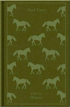 Hard Times by Charles Dickens. Penguin's Clothbound Classics with cover design by Coralie Bickford-Smith.