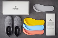 Mahabis Slippers Can Be Worn Inside and Outside with removable soles - Aren't these just the coolest things ever?!