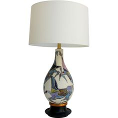 Marcello Fantoni Lamp | From a unique collection of antique and modern table lamps at https://www.1stdibs.com/furniture/lighting/table-lamps/
