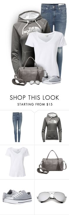 """So comfy"" by cindycook10 ❤ liked on Polyvore featuring rag & bone, The North Face, Witchery, Converse, ootd, simpleoutfit and simpleset"