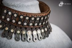 Chain Choker Dystopian Jewerly Mad Max Collar Leather
