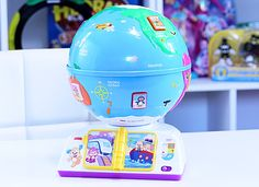 It's been established that I love a good educational toy. I love toys that introduce new ideas and thinking to young children. The Fisher-Price Laugh and Learn Greetings Globe is marketed as a toy that teaches different music and greetings from different parts of the world. This Greetings Globe is potentially the initial introduction for …