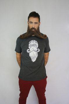 Incredibeard - Live Long Beard Longer - Charcoal Heather, $25.00 (http://www.incredibeard.com/live-long-beard-longer-charcoal-heather/)