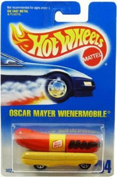 Hot Wheels oscar mayer Wienermobile - Hot Dot Party Favors