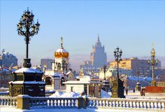 Moscow. Winter morning