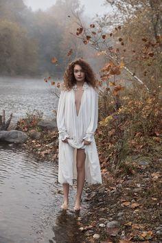 Sasha Kichigina is a Nature Girl in Summerwinter Homme Magazine - Page 2 of 2