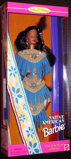 Amazon.com: Native American Barbie: Toys & Games