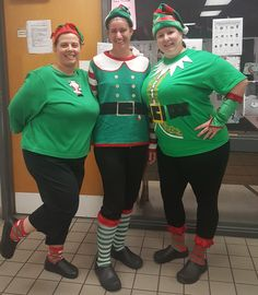 Holiday Elves made an appearance @ River Ridge.