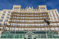 Opened in 1864, this is Brighton's grandest dame among the city's plethora of seafront hotels. The Grand is looking as graciously fresh as she did in her heyday. Interior work has vastly improved the look of both bedrooms and public areas; so gone is the dated chintzy fuss of a few years back – in its place, a softer palette, modern air conditioning, contemporary statement furniture and glossy Art Deco-inspired accents.