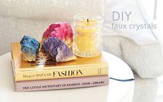 DIY Faux Crystals