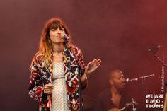 Lou Doillon au Festival Les Ardentes, juillet 2013.