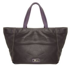 Purple Leather Tote Bag for £39.99 #fabfind