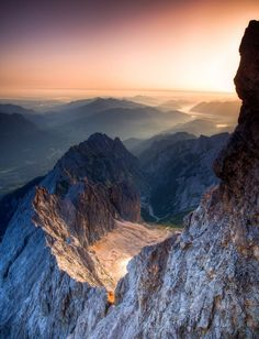 The Zugspitze is the highest mountain in Germany. All Nature, Amazing Nature, Places Around The World, Around The Worlds, Beautiful World, Beautiful Places, Landscape Photography, Nature Photography, Photography Tips