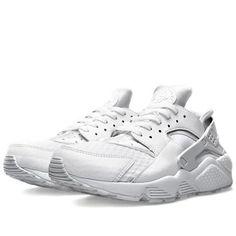 Nike Air Huarache LE 'Triple White' 318429 111 RESTOCK