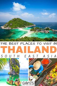Planning your Thailand itinerary and wondering which destinations to visit? Whether you want to explore Phuket, Bangkok, Koh Samui or Chiang Mai, we've got the list of the 41 best places to visit in Thailand on your vacation! Visit Thailand, Thailand Travel, Asia Travel, Backpacking South America, Backpacking Asia, Thailand Destinations, Travel Destinations, Thailand Adventure, Khao Lak