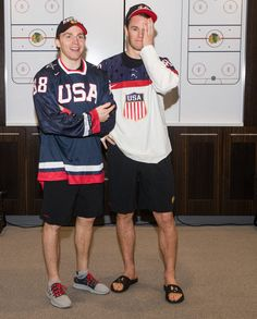 A bet is a bet. Jonathan Toews makes good on his World Junior Championships wager with Patrick Kane.
