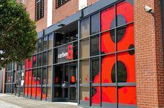Shop Front Window Graphics - Carbon 8, Wyndham St Redfern