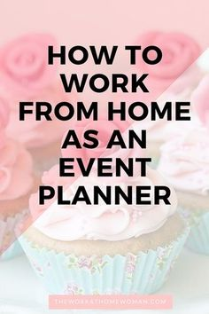 Do you love planning parties? This post covers everything you need to know about becoming a home-based event planner!