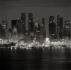 Midtown from Union City, Study 1, New York, New York, USA, 2006