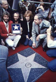 The Bee Gees 'Star of Fame'.