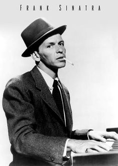 A great poster of a young Frank Sinatra at the piano! Do it your way and check out the rest of our fabulous selection of Frank Sinatra posters! Need Poster Mounts. Frank Sinatra Letras, Frank Sinatra Poster, Golden Age Of Hollywood, Classic Hollywood, Old Hollywood, Hollywood Party, Playing Piano, Dean Martin, Young At Heart