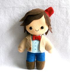 Matt Smith 11th Doctor Plush by deadlysweetplushes