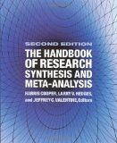 The handbook of research synthesis and meta-analysis / Edited by Harris Cooper, Larry V. Hedges, and Jeffrey C. Literature Search, Meta Analysis, Science Biology, New Chapter, Problem Solving, Research, Larry, Knowledge, December