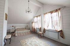 #Спальня на #мансарде