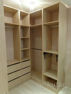 Wardrobe Design Bedroom, Bedroom Wardrobe, Loft Interiors, Fitted Wardrobes, Walk In Closet, Closet Organization, Dressing Room, Furniture Design, Room Decor
