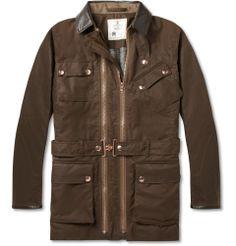 Private White V.C.Waxed-Cotton Field Jacket|MR PORTER