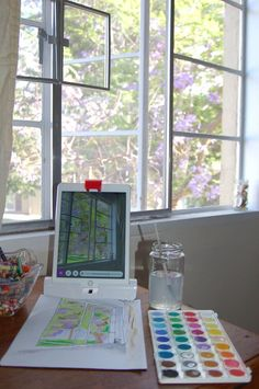 Using watercolors with Osmo Masterpiece