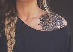 Bildergebnis für shoulder cap lotus tattoo