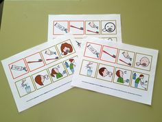 ARASAAC - Materiales: Rutinas para el cepillado de dientes Primary Education, Special Education, Life Transitions, Language And Literature, Early Childhood Education, Projects To Try, Holiday Decor, Chloe, Activities For Autistic Children