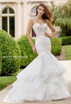 Courtesy of Mon Cheri Wedding Dresses Martin Thornburg Collection; Wedding dress idea.