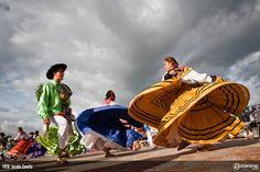Another photo of Oaxaca's Guelaguetza.