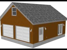 Pin pdfgarages pdf garage plan g383a 20 x 60 14 and 50 43 for 50 x 60 garage plans