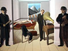 """""""El asesino amenazado"""" (1927). René Magritte (Bélgica, 1898-1967). MOMA, Nueva York."""