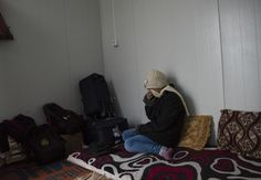 A Yazidi teen who agreed to be identified by her first initial, M., said ISIS fighters sold her as a sex slave. She spent time in a camp near Dohuk, Iraq, before being resettled in Germany.