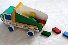 manualidades niños | de-carton-de-leche-a-camion | coralkids pins