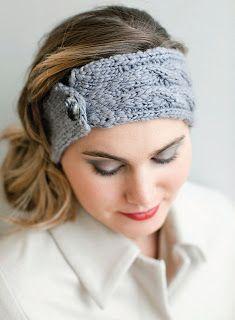NobleKnits Knitting Blog: Big Apple Headband Free Knitting Pattern
