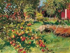 Albert Edelfelt - From the Old Fruit Garden