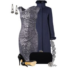 Sparkle the Night Away, created by kginger on Polyvore