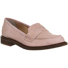 Office Demanding Softy Loafer With Thick Rand ($88) ❤ liked on Polyvore featuring shoes, loafers, flats, pink kid suede, women, pink suede loafers, loafer flats, pink flat shoes, office shoes and suede flats shoes